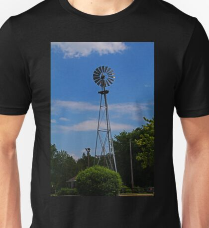 Sylvania Spinner- vertical Unisex T-Shirt
