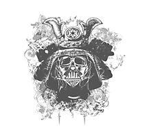 Samurai Vader Hybrid Photographic Print