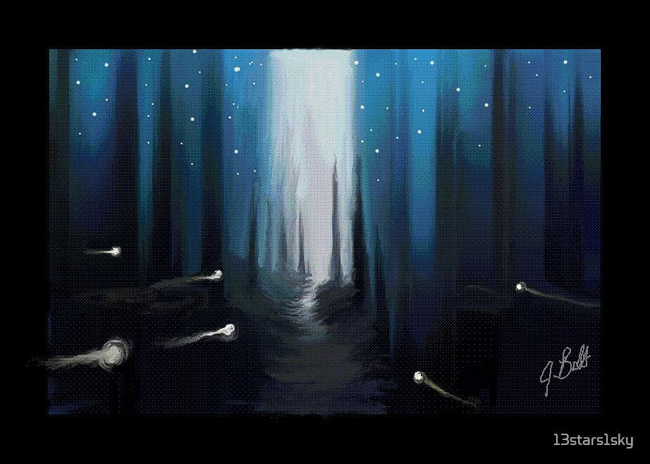 Starry Night by 13stars1sky