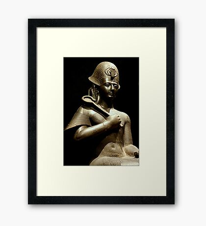 Statue of Ramses II Framed Print