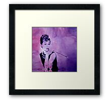 MISS GOLIGHTLY - Breakfast at Tiffany´s Framed Print