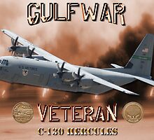 C-130 Hercules Gulf War Veteran by Mil Merchant