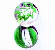 Double Green by Deon de Waal