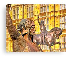King Richard The Lion-Heart Canvas Print