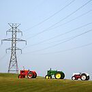 Diesel and Electric by Andris Batraks