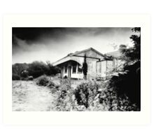 Abandoned Station, Desert, West Cork, Ireland Art Print