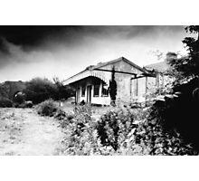 Abandoned Station, Desert, West Cork, Ireland Photographic Print