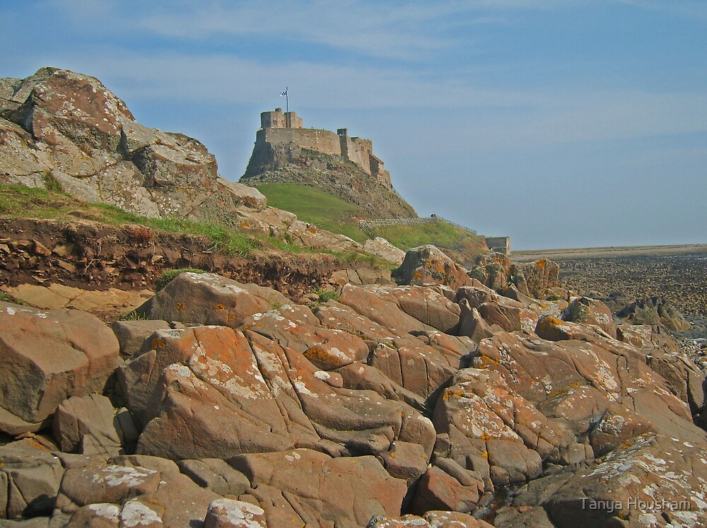 Lindisfarne Castle by Tanya Housham