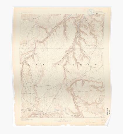 USGS TOPO Map Colorado CO Mesa De Maya 402461 1891 125000 Poster