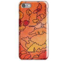 arancione astratto iPhone Case/Skin