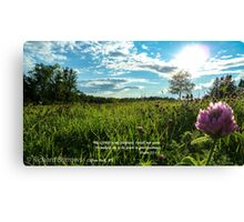 May Canvas Print