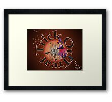 Trick Or Treat 2 Framed Print