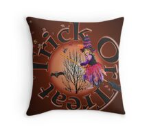 Trick Or Treat 2 Throw Pillow