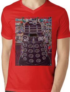 Dalek Mens V-Neck T-Shirt