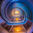 Stairs in Riga, Latvia by Richard Shakenovsky