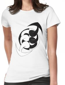Arrows 02 - Ying & Yang Womens Fitted T-Shirt