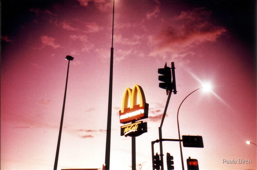 Neon Landscape by Paula Birch