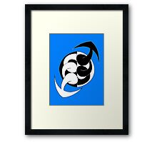 Arrows 02 - Ying & Yang Framed Print