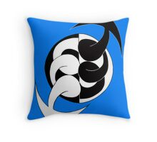 Arrows 02 - Ying & Yang Throw Pillow