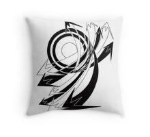Arrows 01 - Curves Throw Pillow