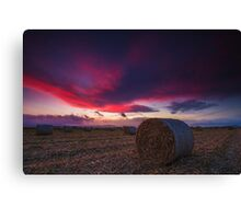 Norwell Sunset Canvas Print