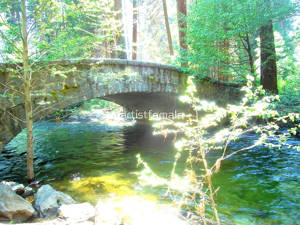 Bridge at Yosemite by artistfemale