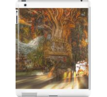 The Past Alive in the Present in Ghana iPad Case/Skin