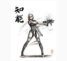EDI from Mass Effect Universe sumi and watercolor style Unisex T-Shirt