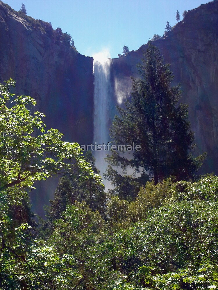 Falls at Yosemite  by artistfemale