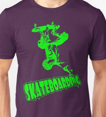 Cool Skateboarding design. Unisex T-Shirt