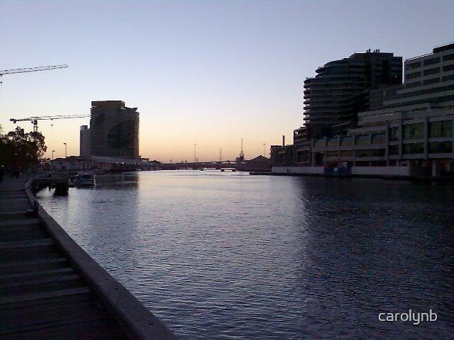 melbourne at dusk by carolynb
