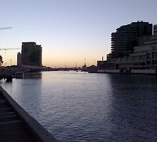melbourne at dusk by carolynb