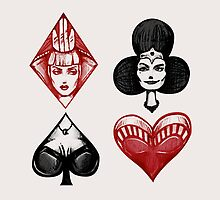 Queens of the Deck by Sam Pea