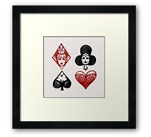 Queens of the Deck Framed Print