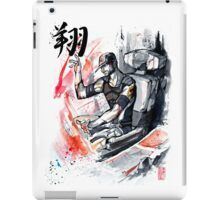 Joker from Mass Effect sumi ink and watercolor iPad Case/Skin