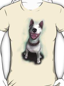 Lola English Bull Terrier Painting T-Shirt