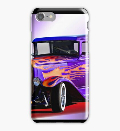 1930 Ford Model A Coupe iPhone Case/Skin