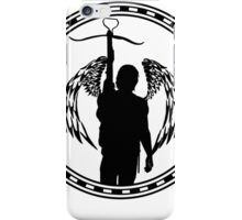 Celtic Ring/Angel Wings - Daryl Dixon  iPhone Case/Skin