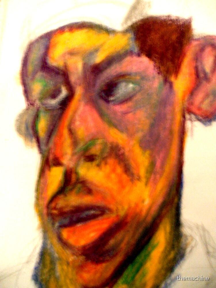 Self Portrait #3 by themachine