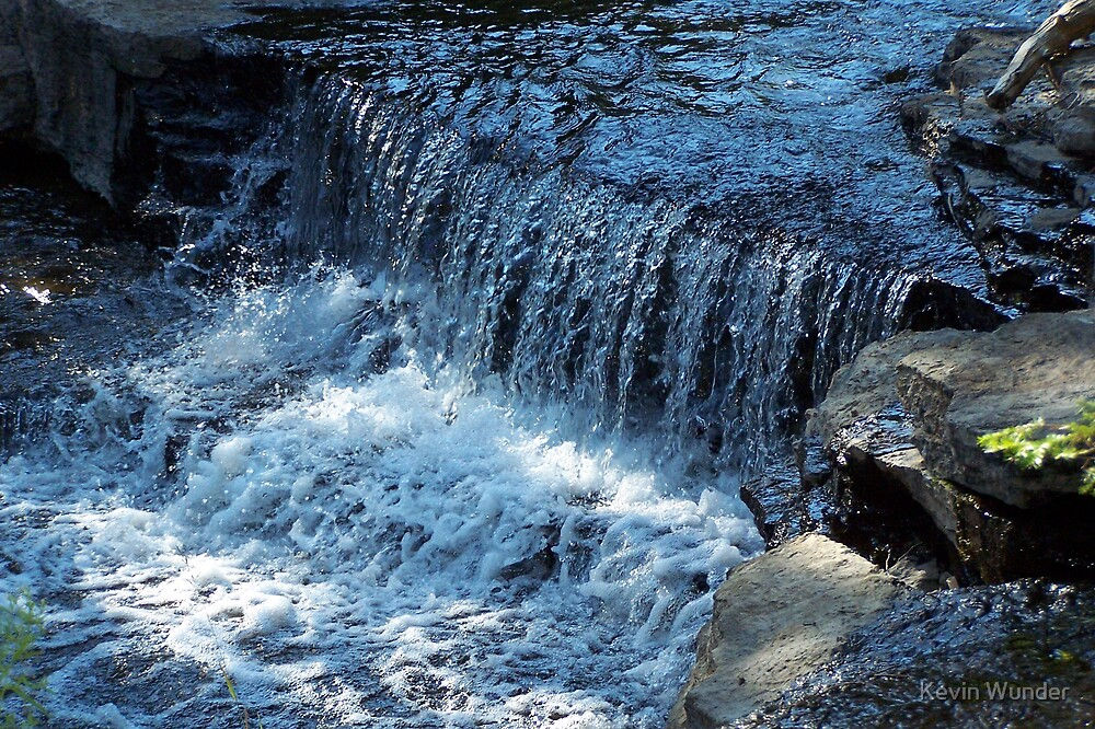 Laughing Whitefish Falls by Kevin Wunder