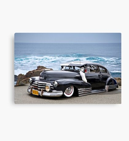 1947 Chevrolet Fleetline 'Beach Bomb' Canvas Print