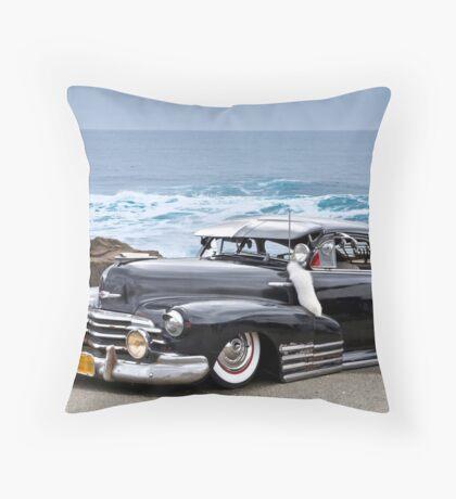 1947 Chevrolet Fleetline 'Beach Bomb' Throw Pillow