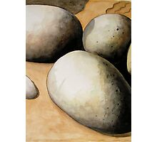 Rocks and Sand Photographic Print