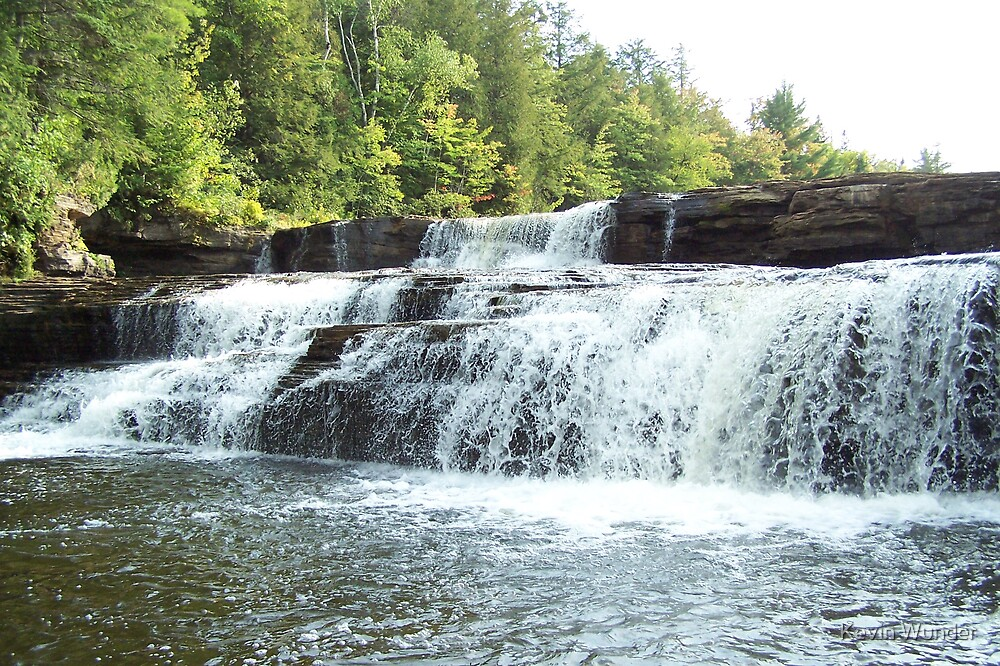 Tahquamenon Falls by Kevin Wunder