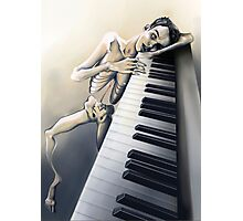 Piano Man Photographic Print