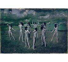 The nine Muses Photographic Print