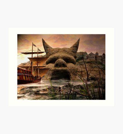 Voyage To Citadel Laufeia Art Print