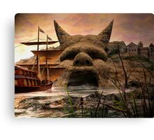 Voyage To Citadel Laufeia Canvas Print