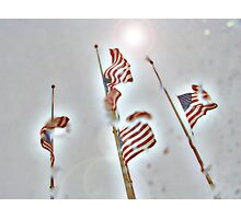 Heaven's Tears- A Tribute to 9-11 Photographic Print