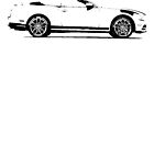 2014 Ford Mustang Convertible by garts